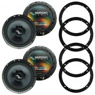 Fits Chevy Equinox 2005-2006 Factory Premium Speaker Replacement Harmony (2) C65 Package