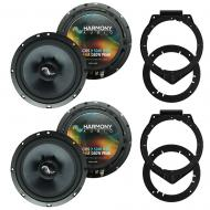 Fits Saturn Outlook 2007-2009 Factory Premium Speaker Upgrade Harmony (2) C65 Package