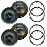 Fits Volkswagen Jetta 1999-2005 Factory Premium Speaker Upgrade Harmony (2) C65 Package