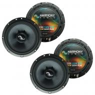 Fits Volkswagen Rabbit 2006-2009 Factory Premium Speaker Upgrade Harmony (2) C65 Package