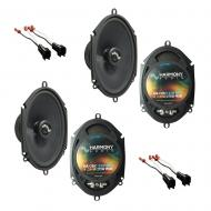 Fits Ford F-150 2004-2008 Factory Premium Speaker Replacement Harmony (2) C68 Package