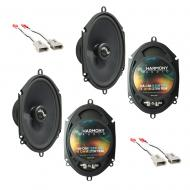 Fits Ford Mustang 1994-1998 Factory Premium Speaker Replacement Harmony (2) C68 Package