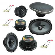 Fits Jeep Grand Cherokee 1999-2004 OEM Premium Speaker Replacement Harmony Upgrade Kit