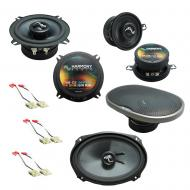 Fits Oldsmobile Toronado 1988-1993 OEM Speaker Upgrade Harmony Premium Speakers Package