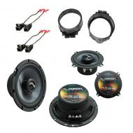 Fits GMC Sierra 2500HD, 3500HD 2014-Up OEM Speaker Upgrade Harmony Premium Speakers New