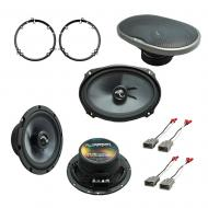 Fits Honda Accord 1998-2002 Factory Premium Speaker Replacement Harmony C65 C69 Package