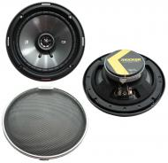 "Kicker 44BCSC54MB Car Audio CS Series 5 1/4"" Black 225W Peak Speakers Pair"