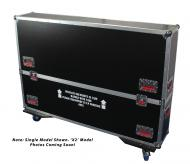 Gator Cases G-TOURLCDV2-5055-X2 G-TOUR case designed to easily adjust and fit two LCD, LED or pla...