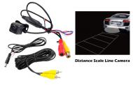 Pyle Car Audio PLCM37FRV Universal Mount Optional Front View & Rear View Backup Color CMD Cam...