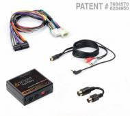 iSimple ISTY12 Sirius/XM Kit for SXV-100/200 w/ Auxiliary Input and All Harness