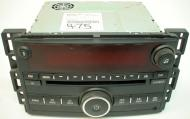 2007-2008 Pontiac Torrent Factory AM Mono FM Stereo Radio CD Player