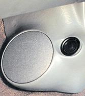 "Q Logic 92-95 Honda Civic 5 1/4"" Custom Speaker Kick Panel"