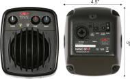 "Galaxy Audio NSPA Powered Nano Spot with 3"" 4 Ohm Driver"