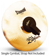 "Zildjian A0488 16"" Stadium Series Medium Heavy Single Marching Cymbal Short Sustain"