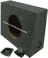 "Sub Boxes Truck Single 12"" Subwoofer Unloaded Enclosure Box"