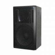 "Galaxy Audio CR-15 15"" 2-Way Black Speaker Cabinet"