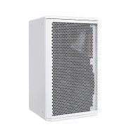 "Galaxy Audio CR-12W 12"" 2-Way White Speaker Cabinet"
