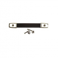 Peavey Black Retainer Strap w/ Chrome Hardware and Reinforcement Caps (51700)