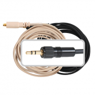 Galaxy Audio CBL3SEN Black ES3/HS3 Cable with 3.5mm Locking Wired for Most Sennheiser Systems