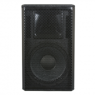 "Galaxy Audio CR-12 12"" 2-Way Black Speaker Cabinet"