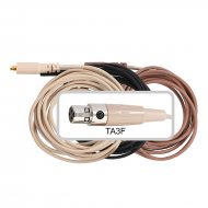 Galaxy Audio CBLAKG Replacement Cable with TA3F wired for most GALAXY/AKG systems