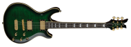 Dean DCR ICON TGR Custom Limited Run Icon Trans Green 6 String Electric Guitar