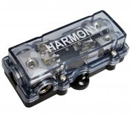 Harmony Audio HA-AGUFD2 Car Stereo 2-Way AGU Fused Distribution Block (3) 4GA IN - (2) 8GA OUT