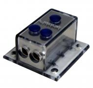 Harmony Audio HA-NFD2 Car Audio Wire Distribution Block (1) 4GA IN (2) 8GA OUT