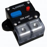 Harmony Audio HA-CB200 Car / Marine Stereo Manual Reset 200 Amp Circuit Breaker 12 Volt