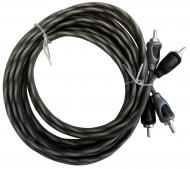 Harmony Audio HA-RCA12 Car Audio 2 Channel Stereo 12 Foot Twisted Pair RCA Cable