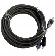Harmony Audio HA-RCA17 Car Audio 2 Channel Stereo 17 Foot Twisted Pair RCA Cable
