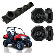 "Bennche Spire Kicker System DSC50 Custom Quad (4) 5 1/4"" Speakers Power Sports UTV Pod"
