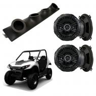 "Carter Brothers Matrix 150 Kicker System DSC50 Custom Quad (4) 5 1/4"" Speakers Power Sports ..."
