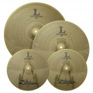 "Zildjian LV348 L80 Series Low Volume Cymbal Set w/ 13"" Hi-Hat Pair, 14"" Crash & 18&..."