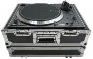 Harmony Cases HC1200BMKII Flight Ready Foam DJ Turntable Case fits Denon 3700