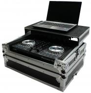Harmony HCMINILT Flight Glide Laptop Stand Road DJ Case fits Numark Mixtrack II