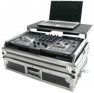Harmony DJ Cases HCNVLT Flight Glide Laptop Stand Road DJ Custom Case fits Numark NV