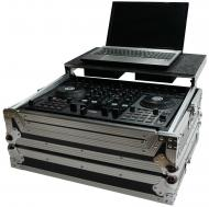 Harmony HCTKS4LT Flight Glide Laptop Stand DJ Custom Case for Numark Mixtrack Pro