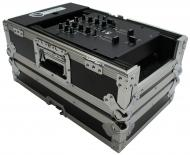 "Harmony Cases HC10MIX Flight Ready DJ Road 10"" Mixer Case fits Gemini MM-1"
