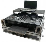 Harmony HCNS7IIWLTTR Flight Glide Laptop Stand Road DJ Custom Case Numark NS7II
