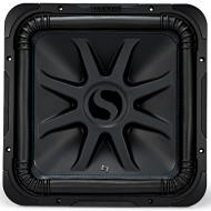 "Kicker L7S15 Car Audio Solobaric 15"" Subwoofer Square L7 Dual 2 Ohm Sub 44L7S152"