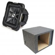 "Kicker 11S10L74 Solobaric L7 Subwoofer Single 10"" Vented Sub Enclosure Box New"
