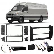 Freightliner Sprinter 2008-2013 Single Double DIN Stereo Radio Install Dash Kit