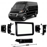 Ram Promaster 2014-2018 Single DIN Stereo Harness Radio Install Dash Kit Package