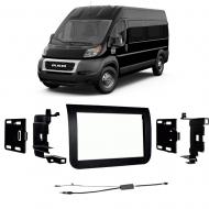 Ram Promaster 2014-2018 Double DIN Stereo Harness Radio Install Dash Kit Package
