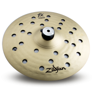 """Zildjian FXS10 10"""" FX Stack/Hi Hat Cymbal Pair with Mount - Traditional Finish"""