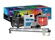 Chauvet Jam Pack Gold DJ Lighting Derby Laser Fog Plug and Play Party Package