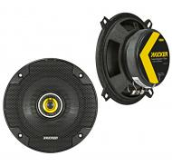 "Kicker 46CSC54 Car Audio 5 1/4"" Coaxial Full Range Stereo Speakers Pair CSC5"