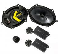 "Kicker 46CSS684 Car Audio 6x8"" Component Full Range Stereo Speakers Set CSS68"