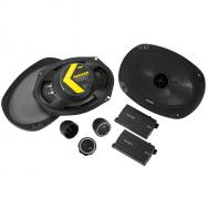 "Kicker 46CSS694 Car Audio 6x9"" Component Full Range Stereo Speakers Set CSS69"